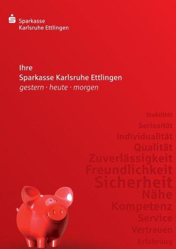 Jahresbericht der Sparkasse Karlsruhe Ettlingen 2012