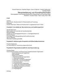 Neuorientierung von Kunsthochschulen - Christian Reder