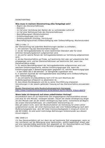 Dienstvertrag Zur Beauftragung Von Dienstleistungen Pdf