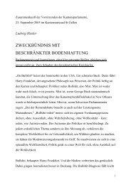 Referat Ludwig Hasler - Kanton St.Gallen