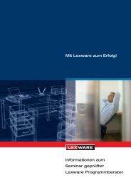 Informationen zum Seminar geprüfter Lexware Programmberater Mit ...
