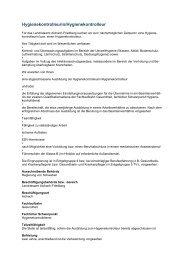 Hygienekontrolleurin/Hygienekontrolleur - Regierung von ...