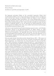 Wettbewerb und Markt sind zu wenig Heinz-J. Bontrup (Erschienen ...