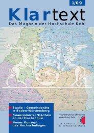 Hochschultag 2009 - Hochschule Kehl
