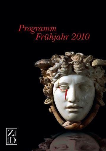 Programm Frühjahr 2010 - Hanser Literaturverlage