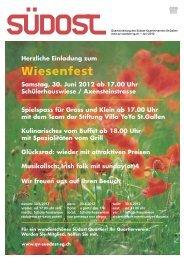 Quartierzeitung Nr. 2 / 2012 - qv-suedost-sg.ch