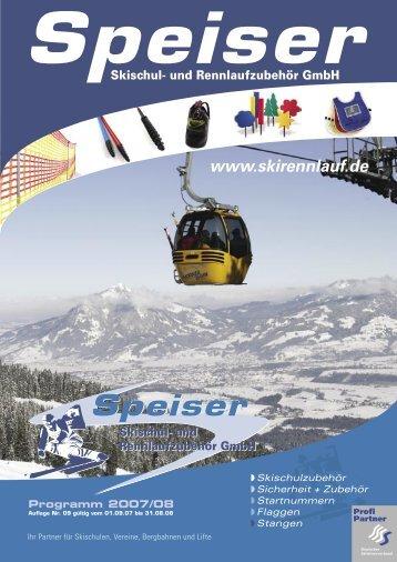 Beratung & Vermittlung von - Speiser Skischul- und ...