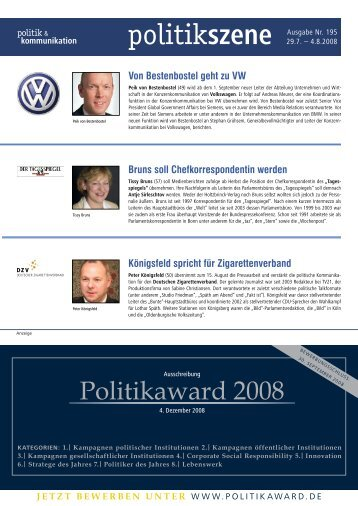 Download PDF - Politik & Kommunikation