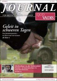 Geleit in schweren Tagen - Quo Vadis Salzburg