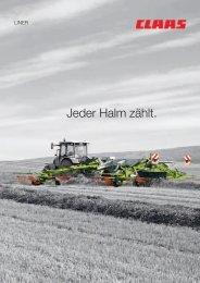 Claas Schwader Liner - Kaufmann Landtechnik GmbH