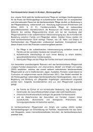 "Familienzentrierter Ansatz im Kontext ""Rückzugspflege"" Aus ... - KNAIB"