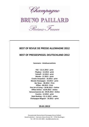Pressespiegel 2012 - Wein-Bastion Ulm