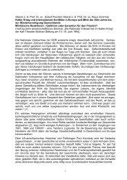 Oberst a. D. Prof. Dr. sc. Klaus Schirmer Kalter Krieg ... - aggi-info.de