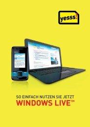 So einfach nutzen Sie jetzt Windows Live - Yesss