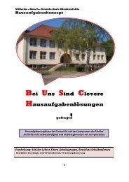 Hausaufgabenkonzept - Wilhelm Busch Grundschule