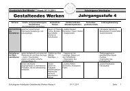 Gestaltendes Werken - Grundschule Bad Münder