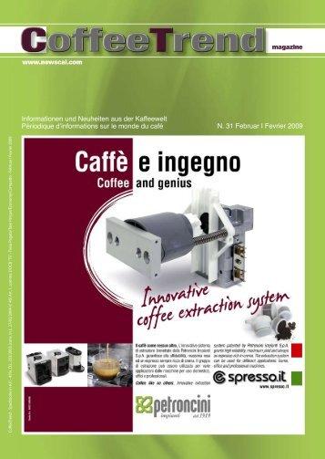 Informationen und Neuheiten aus der Kaffeewelt ... - Newscai