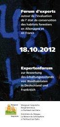 Flyer zur Veranstaltung downloaden - Biosphärenhaus Pfälzerwald ...