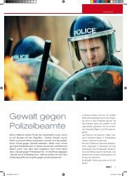 Gewalt gegen Polizeibeamte - Kripo.at
