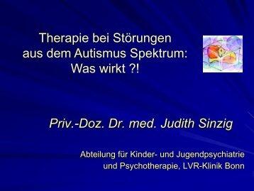 Therapie bei Störungen aus dem Autismusspektrum: Was wirkt?!