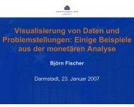 Einige Beispiele aus der monetären Analyse - Analytics Day