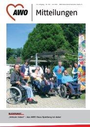 AWO Mitteilungen Ausgabe Juli 2011 - AWO Karlsruhe
