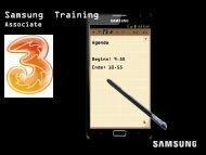 Samsung Training