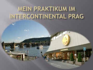 Hotel Intercontinental Prag - Youtou.eu