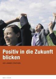 Positiv in die Zukunft blicken - reteaming+teamart Institut Wilhelm ...