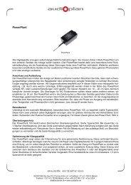 Druckversion Powerplant (PDF) - Audioplan