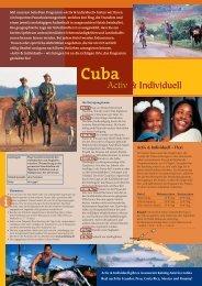 Cuba Activ & Individuell (pdf 672 KB) - travel and fun