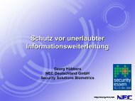 NEC Information Leakage Prevention Solution (ILPS) - Security-Forum