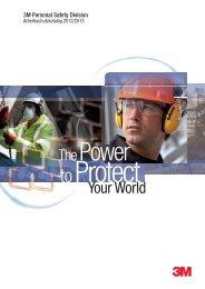 PSA - 3M Safety Division - Arbeitsschutz