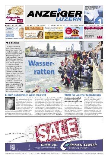 Anzeiger Luzern, Ausgabe 24, 19. Juni 2013