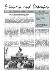 Befreiung Buchenwalds vor 65 Jahren - Erinnern und Gedenken