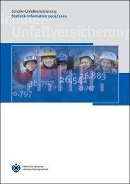 Statistik-Information 2002/2003 - Sichere Schule