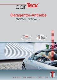 Prospekt Torantriebe - H. Luchsinger AG