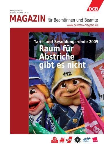 Ausgabe | 03 | 2009 - Landesbeamte
