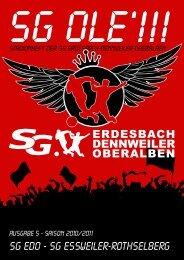 SG EDO - SG essweiler-Rothselberg - SG Erdesbach-Dennweiler ...