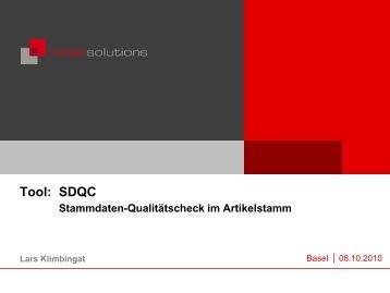 Tool: SDQC
