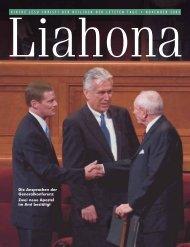 November 2004 Liahona - Kirche Jesu Christi der Heiligen der ...