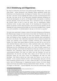 Koran – Entstehung und Allgemeines - GSIW