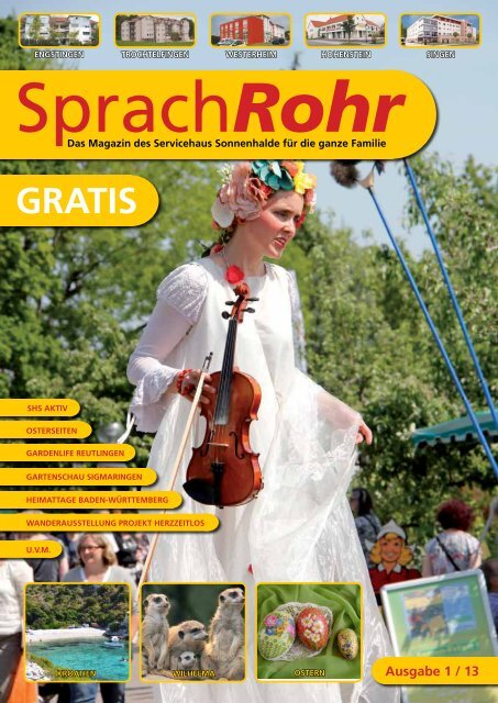 Ausgabe 1/13 PDF herunterladen - Servicehaus Sonnenhalde