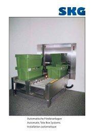 Automatische Förderanlagen Automatic Tote Box Systems ...