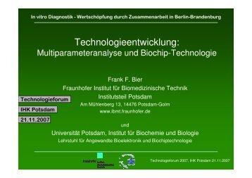 Peptid-Chip - DiagnostikNet | BB