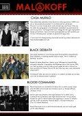 LINEUP MALAKOFF ROCKFESTIVAL 2013 - Fylkesmagasinet - Page 6