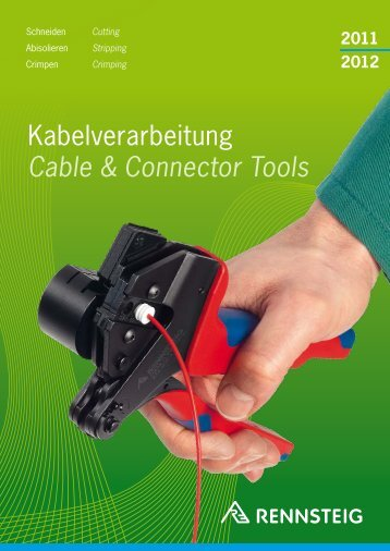 Kabelverarbeitung Cable & Connector Tools - Power & Signal Group