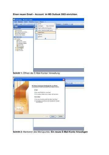 Outlook - my-box Internetprovider