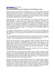www.phayul.com, 30. Juli 2008 Was in Tibet geschah: Ein ...