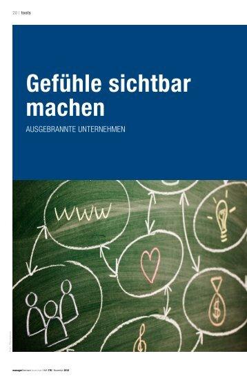 Gefühle sichtbar machen - Dorothee Oetzmann Consulting